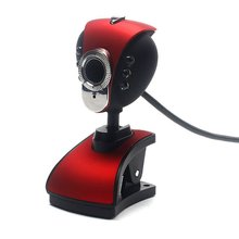 цена на Computer Cameras USB 2.0 Night Vision With Microphone Led PC Camera HD Webcam Web Cam With Mic For PC Laptop Camera