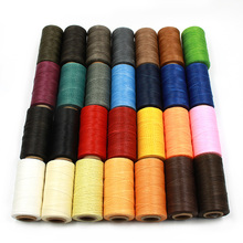 260m 150D Leather Sewing Wax Thread Hand Stitching Cord Craft DIY  Tools Special Flat Waxed line