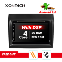 IPS DSP Android 9.0 Car Radio DVD Player GPS Multimedia Stereo For Fiat Ducato 2008 2015 Citroen Jumper Peugeot Boxer Video Navi