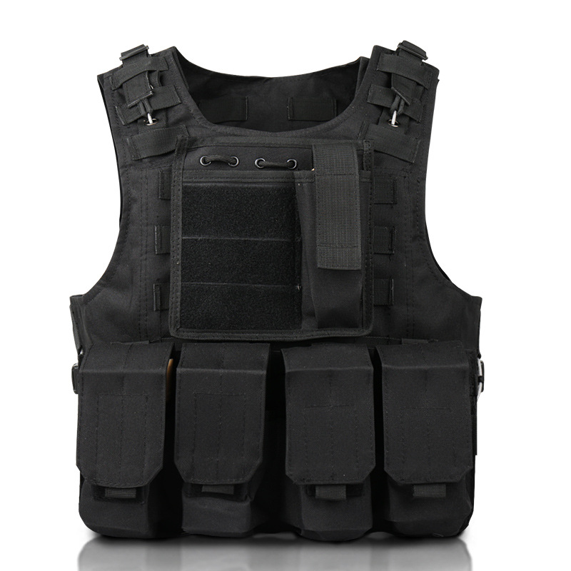 Special Forces Children's Tactical Vest Molle Army Multi-Function Camouflage Combat Vest Military CS Equipment Hunting Vest