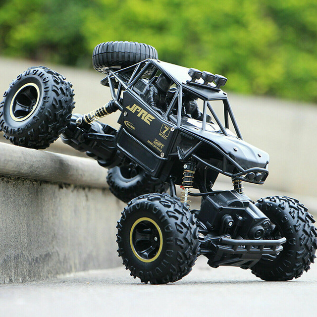 1:16 4WD RC Car Update Version 2.4GHz Dirt Bike Remote Control Car Toys High Speed Truck Off-Road Truck Children's Toys Gifts#g4 4