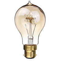 B22 220V Incandescent Bulb 40W A19 23 Anchors Edison Filament Light Bulb