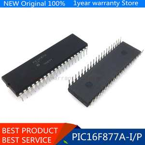 5pcslots PIC16F877A-IP PIC16F877A DIP-40 New original IC In stock!