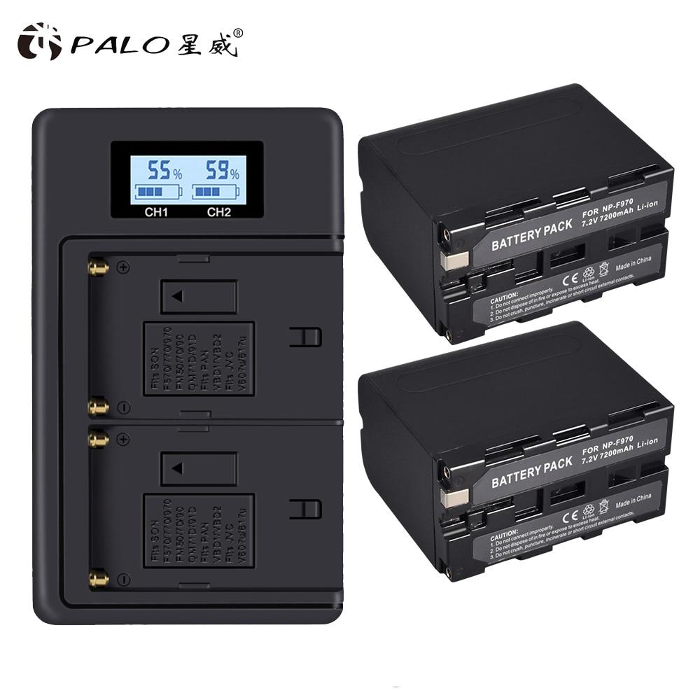 Batería 6000mAh Para SONY NP-F950 NP-F970 F330 F530 F550 F570 F750