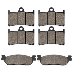 Front Rear Brake Pads for Yamaha YZFR6 YZF600RR 1999 2000 2001 2002 2003 YZFR1 YZF1000 2002 2003 YZFR6S 2001 2002  Universal