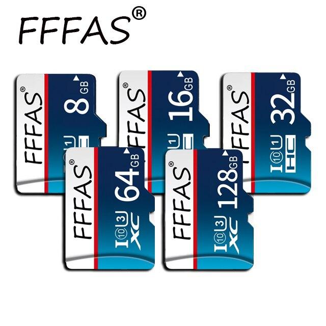 New Class10 High Speed Memory Card 8GB 32GB 64GB 128GB Micro Sd Card 16GB Tarjeta Micro Sd Microsd With Free Adapter