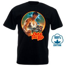 Over The Top Camiseta Rocky Sylvester Stallone Rambo 80S Filme Clássico Do Camionista(China)