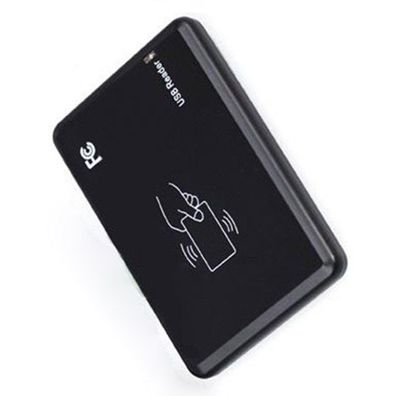 1 Pcs 125Khz USB RFID Smart Card Reader Portable Contactless Proximity Sensor EM4100 PUO88