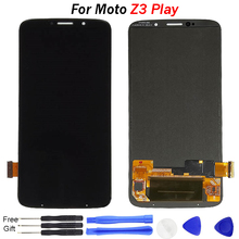 купить For Motorola Moto Z3 Play LCD Display Touch Screen Digitizer Assembly Replacement For Moto Z3 Play XT1929 XT-1929 LCD with tools по цене 2440.61 рублей