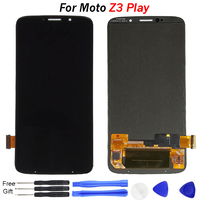 For Motorola Moto Z3 Play LCD Display Touch Screen Digitizer Assembly Replacement For Moto Z3 Play XT1929 XT 1929 LCD with tools