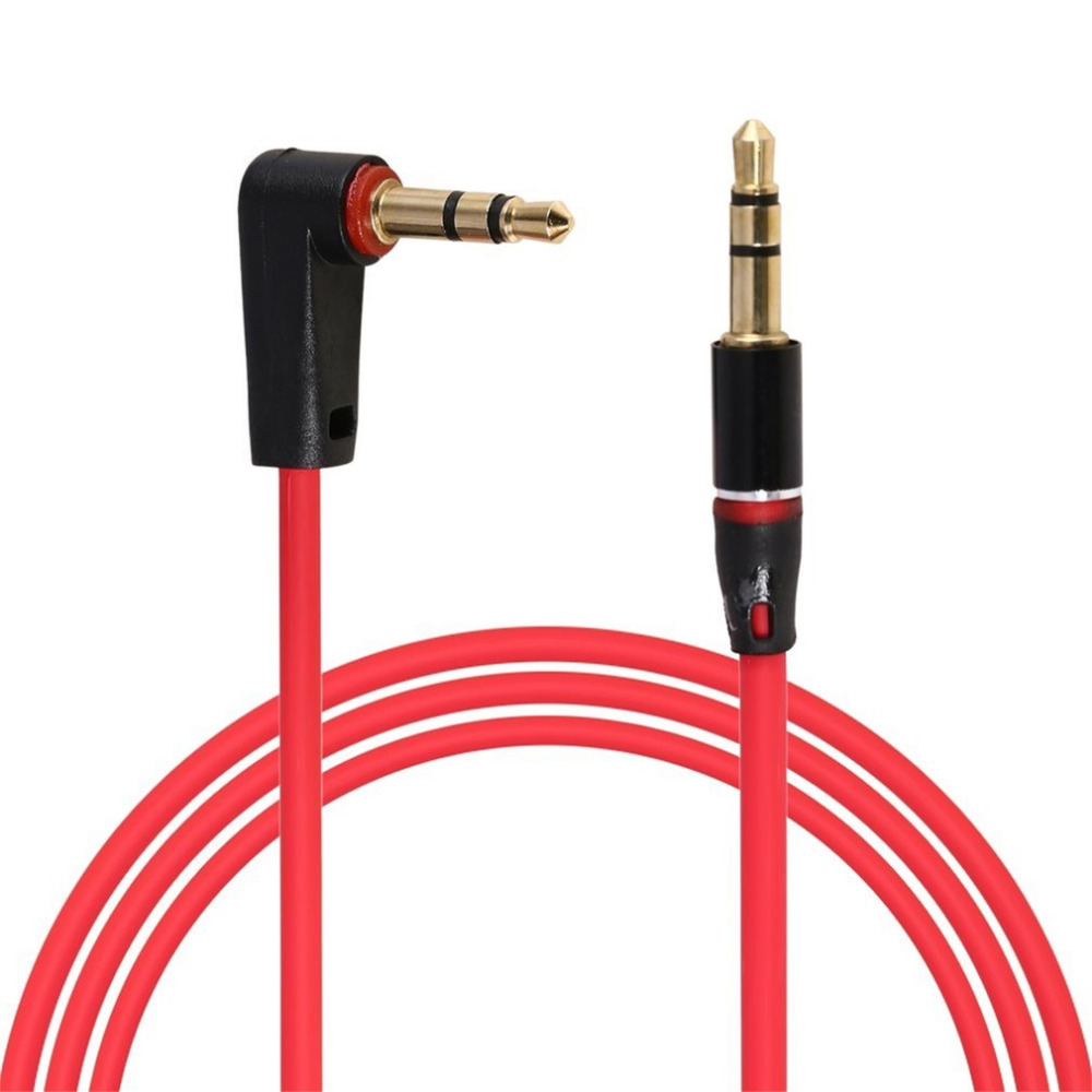 New 100cm 3 Pole 3.5mm Audio Extension Cable Stereo Male to Male Aux Phone Cable Headphone Adapter for Phone MP3 CD Player Radio