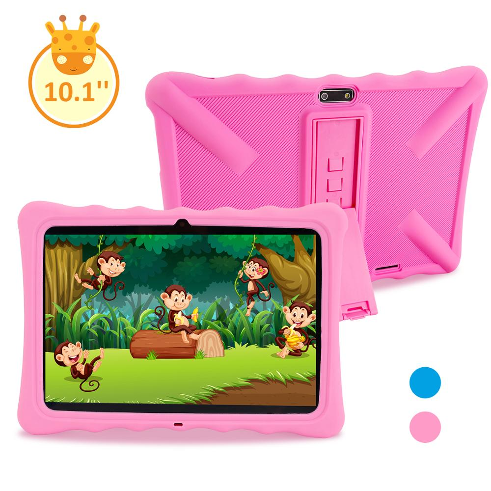 Kids Tablet Veidoo 10.1 Inch Android Tablet Pc For Kids, With WiFi Quad Core Parental Control IPS Screen Safety Eye Protection