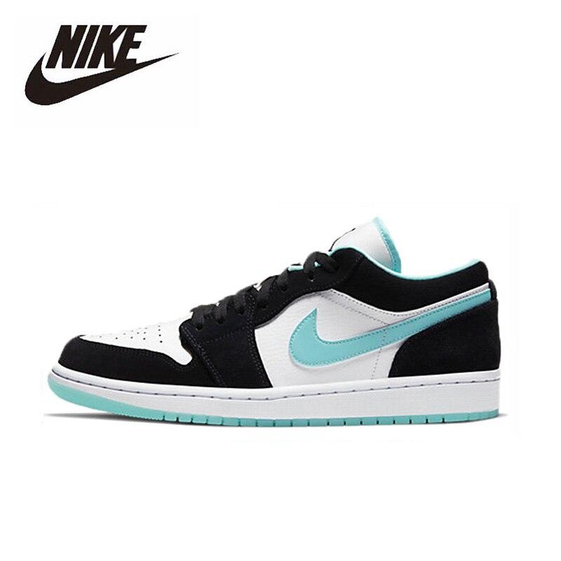 Original Unisex Nike Air Jordan 1 Low Men Shoes Comfortable Lightweight AJ1 Women Basketball Shoes Sports Sneakers CQ9828-131