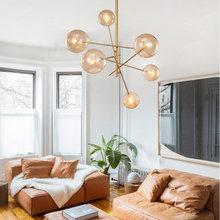 _ Подвесная лампа g9 подвесной светильник итальянский дизайн