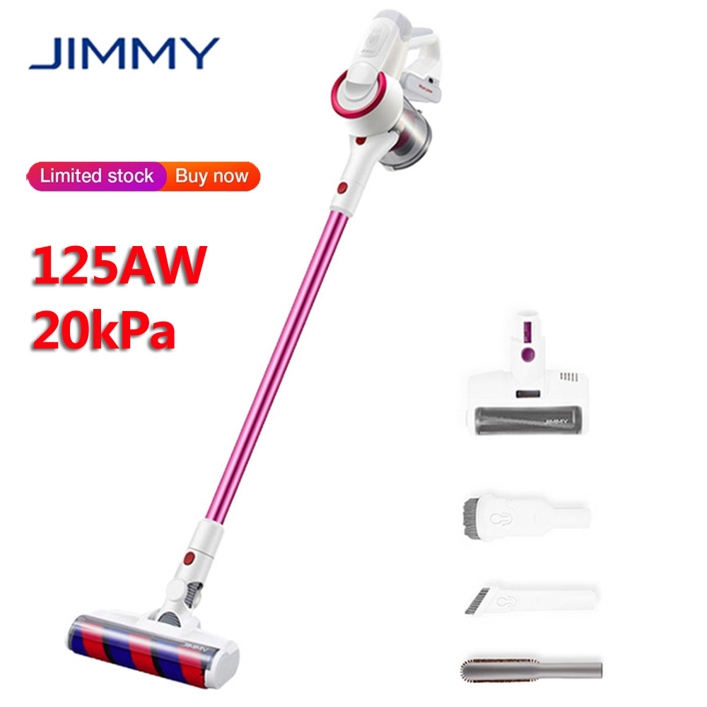 2019 Original JIMMY JV53 Handheld Cordless Vacuum Cleaner 125AW 20kPa Effective Suction Power Wireless Home Dust Collector