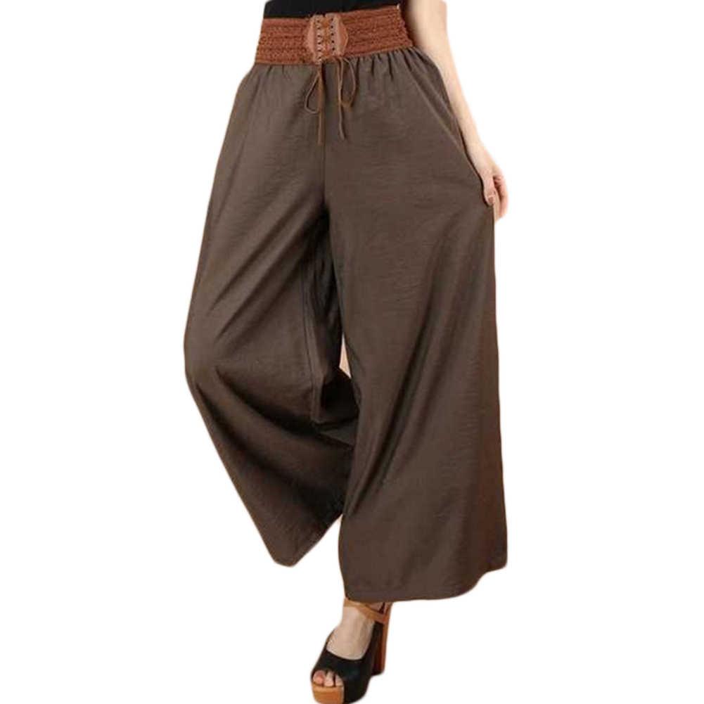 Große Plus Hosen Frauen Weibliche Sport Hosen Für Frauen Hosen Breites Bein Hose Hohe Taille Jogginghose Baggy
