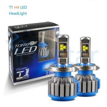 10Pcs Turbo T1 Car LED Headlight 70W 18000Lm H1 H7 H4 Hi/Lo H8 /H11/ H9 9005 HB3 9006 HB4 9007 H3 Fog Light Bulb Car Auto 6000K cnsunnylight car headlight h7 h4 led h8 h11 hb3 9005 hb4 9006 h1 h3 9012 h13 9004 9007 70w 7000lm auto bulb headlamp 6000k light