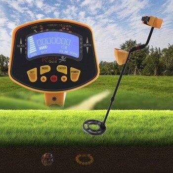 Professional Handheld LCD Display Metal Detector Gold Digger Light Hunter Deep Sensitive Search Tools