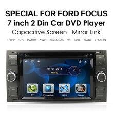 Samochód DVD GPS dla forda Mondeo s max Focus C MAX Galaxy Fiesta transit Fusion podłącz odtwarzacz DVD kuga samochodowy odtwarzacz multimedialny