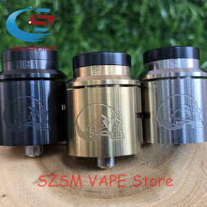 cosmonaut v2 rda Apocalypse GEN 25 RDA 24mm Rebuildable Drops Adjustable Airflow with pin BF rdah