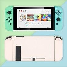 עבור Nintendo מתג מקרה Animal Crossing מעטפת מחשב קשיח כיסוי מעטפת שמחה קון בקר דיור עבור Nintend מתג אבזרים