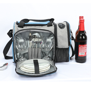 Image 4 - DENUONISS New 2020 Waterproof Picnic Bag Insulated Portable Fabric Thermal Cooler Bag Large Volume Storage Male Beer Wine Bag