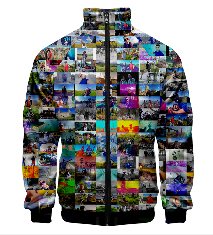 Custom Made 3D Jacket Men Women Thin Bomber Jacket Coat