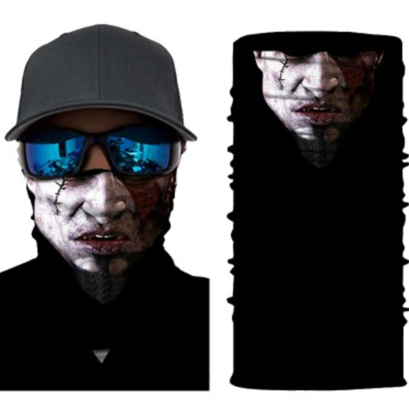 Bandana Men 3D Animal Ski Mask Cycling Snowboard Scarf Neck Warmer Face Mask Winter Balaclava Bike New Face Scarf Protection
