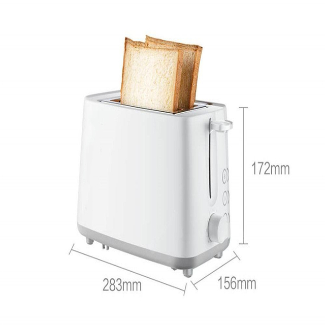 750W Fast Toaster Bread Maker Toast Machine Breakfast Machine Mini Maker Double Side Baking for Home 6