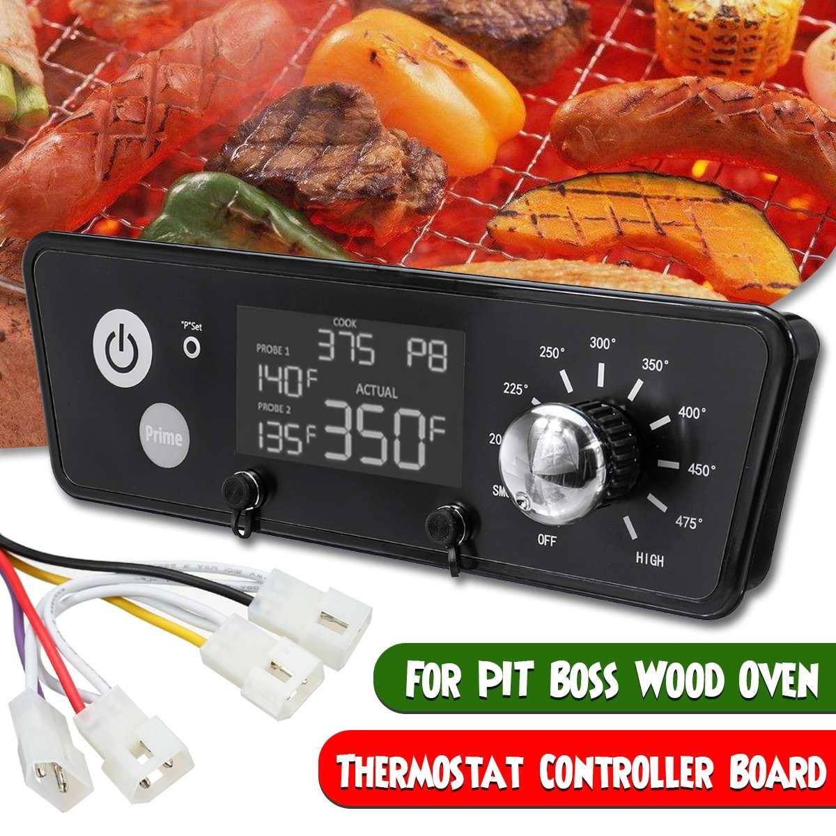 Remplacement de contrôleur de température de mise à niveau de panneau de Thermostat numérique AC 120V pour la cuisine de gril de granule outils de poêle de Barbecue de Barbecue