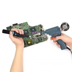 Image 5 - NEWACALOX 110V/220V 60W régulateur température pistolet à souder ue/US chauffé à lintérieur fer à souder à main torche de soudage outil