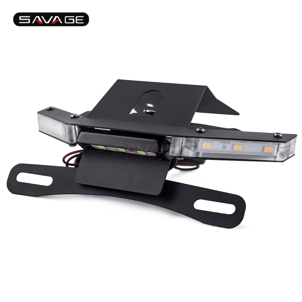 License Plate Holder For <font><b>KAWASAKI</b></font> <font><b>Z900</b></font> Z 900 2017-2020 2019 Motorcycle <font><b>Accessories</b></font> Tail Tidy Fender Bracket Mount Motos Bike image