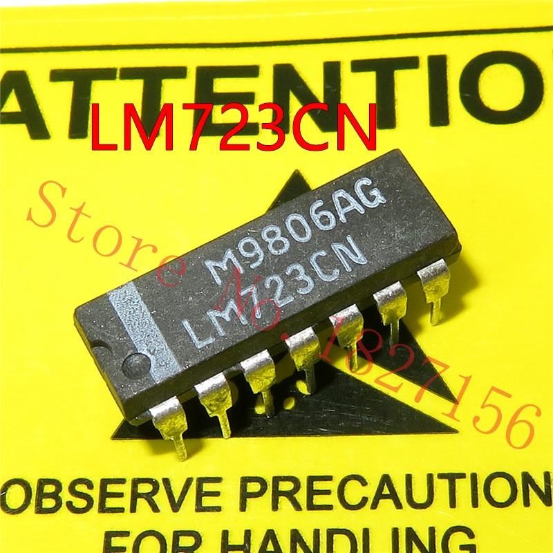 Voltage Regulator 2-37V NEW 2PCS LM723CN LM723 DIP-14 IC Adj