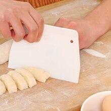 Пластиковые скребки для теста шпатель крема торта пиццы многоцелевой