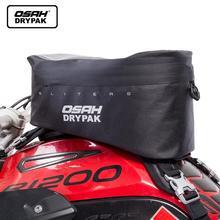 Olio moto Borsa da Serbatoio Impermeabile OSAH DRYPAK Moto Moto Sacchetto di Viaggio di Navigazione Mobile Piccolo Multi funzionale Fue
