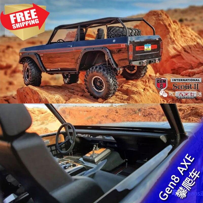 Redcat Racing International Scout II Gen8 AXE Edition RTR Crawler RC Radio Control Car