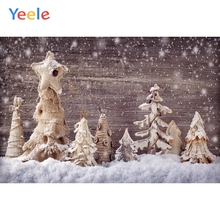 Yeele Christmas Photocall Decor Wood Snowflake Pine Photography Backdrops Personalized Photographic Backgrounds For Photo Studio