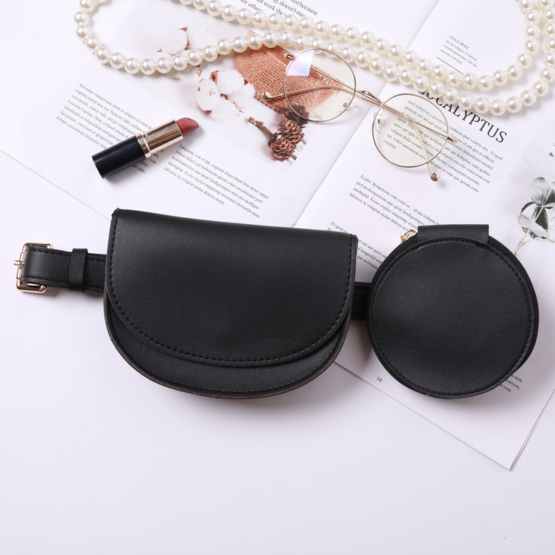 Stylish Solid Bags For Women All-match 2020 Spring Trendy Casual Fashion Tide Vintage Belt Bag Female New Design Waist Bag ZK631