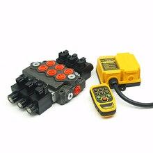 цена на Factory supply solenoid electric valve directional remote control hydraulic valve