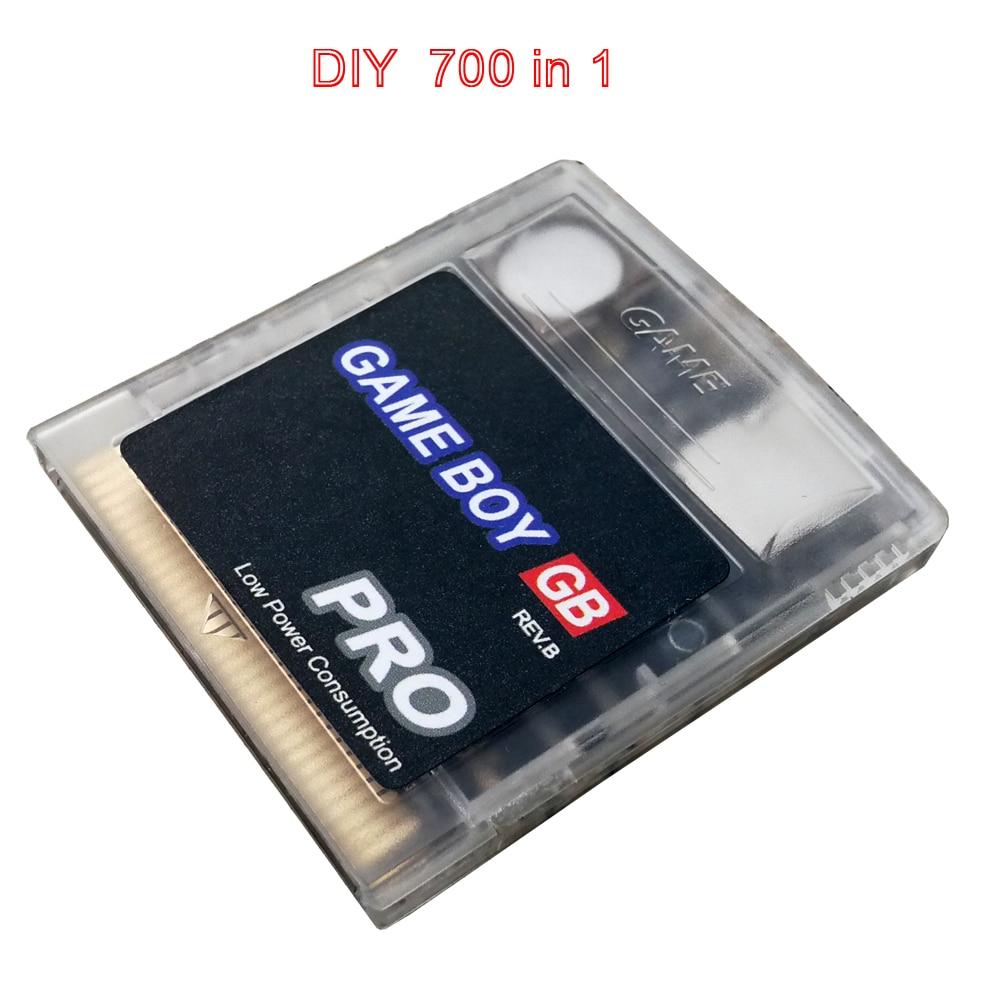 700 в 1 китайская версия GB GBC игровая кассета gameboy, подходит для игровой консоли everdriveNintendo GB GBC SP