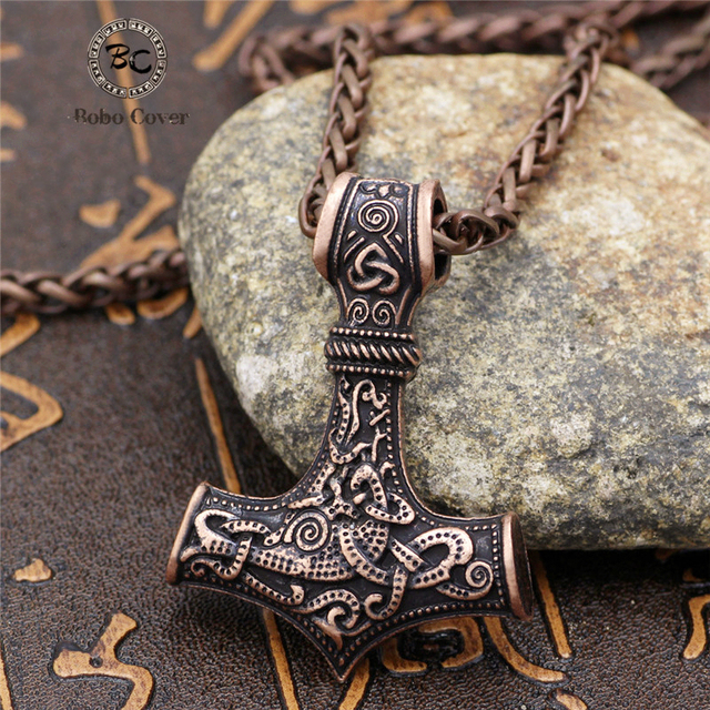 Collier ancre Viking  1