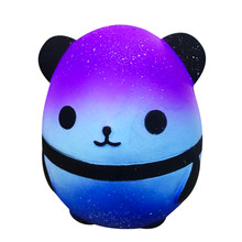 Kawaii Jumbo Galaxy Panda Squishy Slow Rising Kids Toys Collect Doll Stress Relief AntiStress Fidget Toys Gifts For The 2021