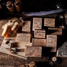 Carimbos de borracha de madeira do selo da decoração da série do bilhete do atlântico do vintage para scrapbooking