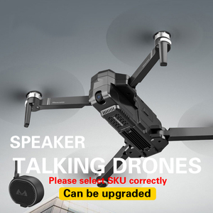 Image 3 - OTPRO صغيرة بدون طيار WIFI FPV مع 4K 1080P كاميرا 3 محور Gimbal GPS RC سباق Drone Quadcopter RTF مع الارسال Z5 F11 برو DRON