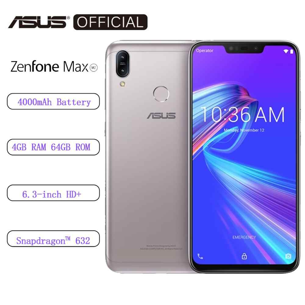 Global ASUS Original Zenfone Max M2 3GB RAM 32GB ROM 4000mAh charge rapide Snapdragon 632 Android Oreo