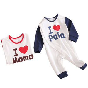 Image 5 - 2019 Spring New Infants Clothes Romper Cotton letter print  10.15