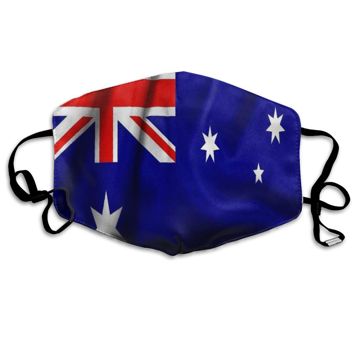 Dustproof   Washable Reusable Flag Of Australia Mouth Cover Mask Protective   Warm Windproof Mask