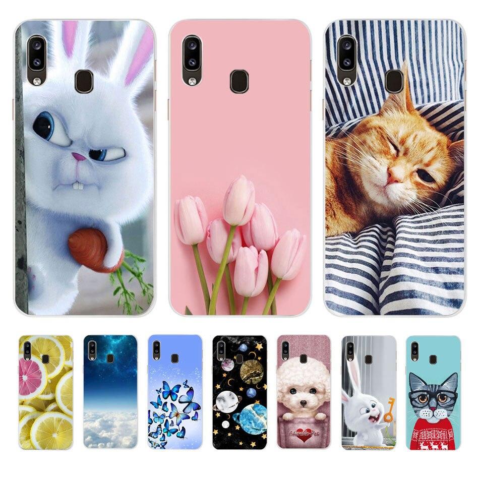 Soft Silicone Case For Samsung Galaxy A10 A20 A30 A40 A50 A20E A70 Back Cover Cases For Samsung A 10 20 E 30 40 50 70 Phone Case
