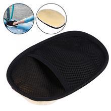 Автомобильная универсальная желтая зимняя теплая мягкая чистка стирка перчатки бытовые рукавицы инструмент автомобильные перчатки для мытья