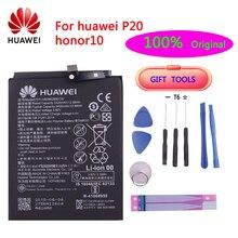 цена на 100% Huawei Original 3400mAh HB396285ECW Battery For Huawei P20 / Honor 10 / Honor 10 Lite Original Batteries